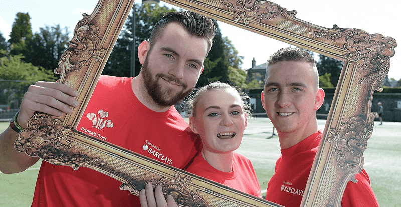 Princes Trust: young people