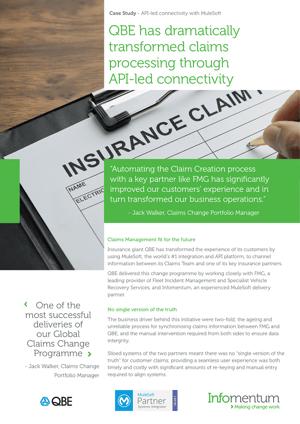 Case Study global insurer