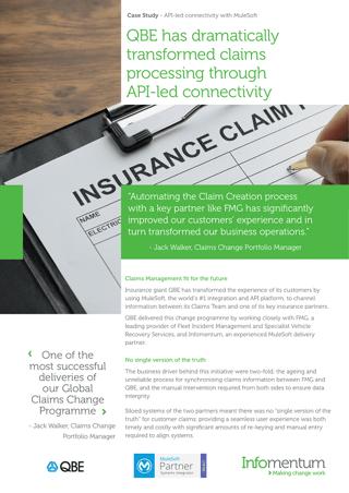Case Study: API-led integration for a global insurer