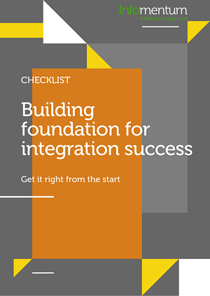 API integration activities checklist