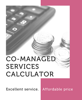 Co-managed services calculator